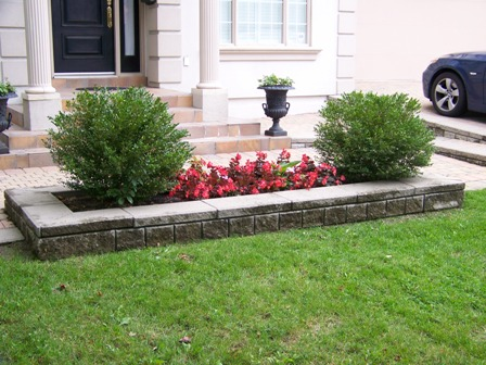 Garden Border Ideas On And Care Company The Lawn King Residential